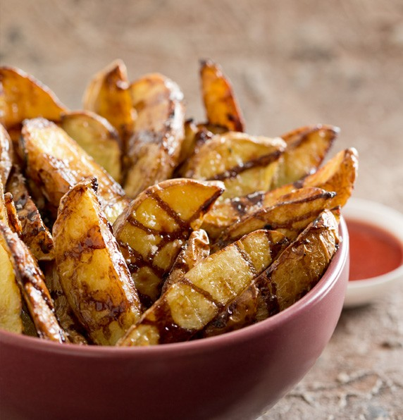 how to cut perfect potato wedges